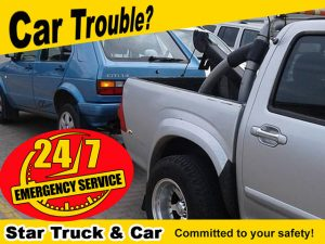 Experiencing Car Trouble in the Garden Route