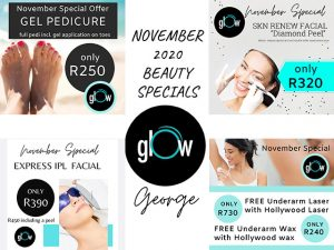 November Beauty Specials at Glow George