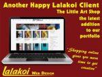 Lalakoi Web Design The Little Art Shop