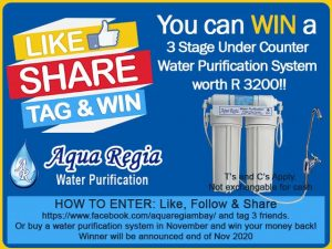 Win a 3 Stage under Counter Water Purification System