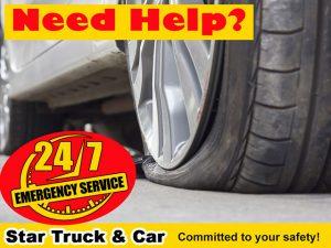 Need Help Flat Tyre Star Truck