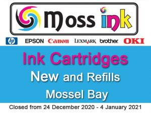 Ink Cartridges New and Refills in Mossel Bay