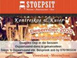 Stoepsit Vleesbaai Restaurant Desember 2020