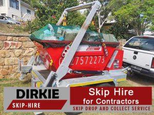 Skip Hire for Contractors in Mossel Bay