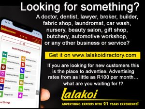 Lalakoi Directory for Garden Route Businesses