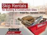 Mossel Bay Skip Rentals for Building Sites