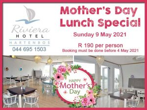 Mother's Day Lunch in Hartenbos
