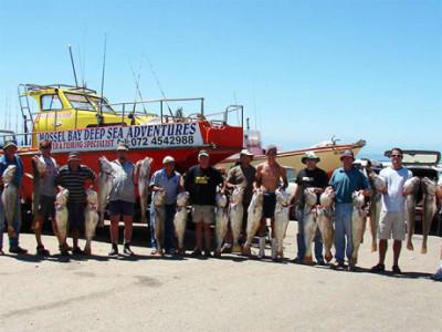 Deep Sea Fishing Charters in Mossel Bay