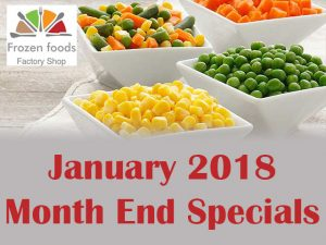 Frozen Foods Factory Shop George Month End Specials January 2018