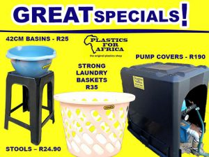 Great Specials at Plastics For Africa