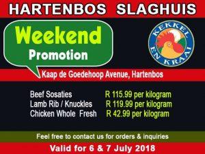 Butchery Special Offers in Hartenbos