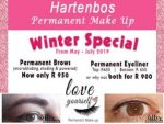 Hartenbos Permanent Make Up Winter Special