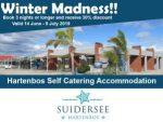 Hartenbos Accommodation Winter Madness