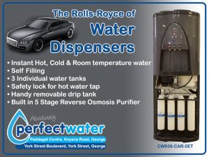 Rolls-Royce of Water Dispensers Available in George