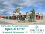 August and September Hartenbos Accommodation Special Offer