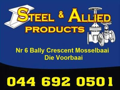 Supplier of Steel and Hardware in Mossel Bay Garden Route