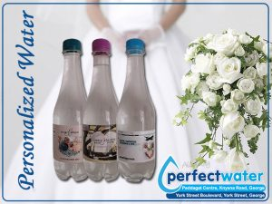 Personalized Water Supplier in George for Weddings