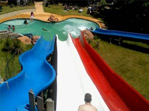 Great Fun Water Slides at the George Water Park