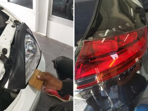 Vehicle Headlight Protection Film in George