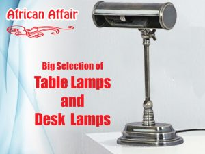 Big Selection of Table and Desk Lamps