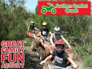 Fun Family Quad Biking Activity between Knysna and Plettenberg Bay