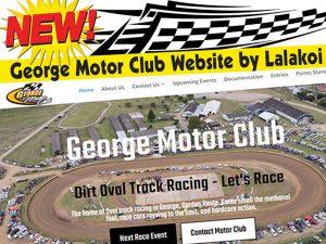 New George Motor Club Website by Lalakoi