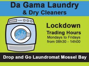 Laundromat Lockdown Trading Hours in Mossel Bay