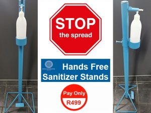 Affordable Hands Free Sanitizer Stands in George
