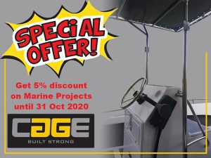 Special on Custom Made Stainless Steel Railings for Boats in George
