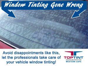Professional Vehicle Window Tinting in George