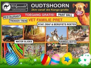 Familie Aktiwiteite by Wilgewandel naby Oudtshoorn
