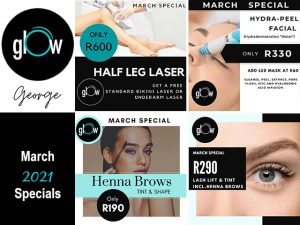 Glow George Beauty Specials for March 2021