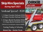 April Skip Hire Special in Mossel Bay
