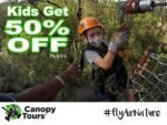 Tsitsikamma Canopy Tour Kids Get 50% Off Special