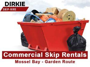Commercial Skip Rentals in Mossel Bay