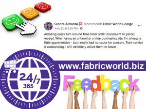 Online Shopping with Fabric World George