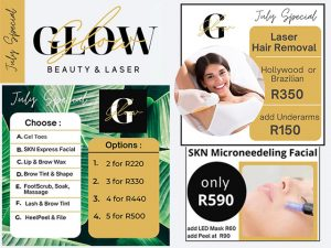 Glow Beauty and Laser George July Specials