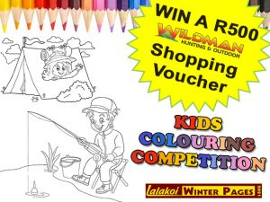 Win with the Wildman George Kids Colouring Competition