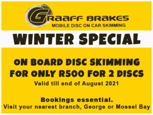 Special on Disc Skimming in Mossel Bay and George