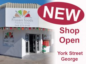 New Frozen Foods Factory Shop in George